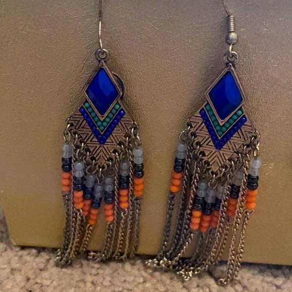 Three summer earrings